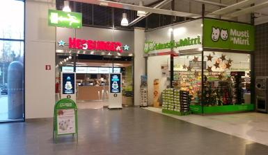 Hesburger Helsinki Kannelmäki Kauppakeskus Kaari