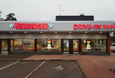 Hesburger Espoo Friisilä Drive-in