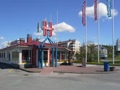 Hesburger Turku Halinen Drive-in