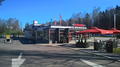 Hesburger Helsinki Munkkiniemi Drive-in