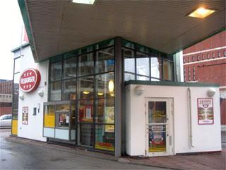 Hesburger Helsinki Ruoholahti Neste Express Drive-in
