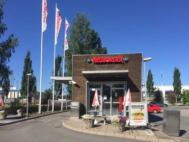 Hesburger Jyväskylä Seppälä Drive-in