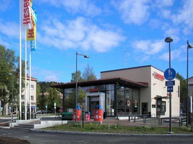 Hesburger Kouvola Kuusankoski Drive-in