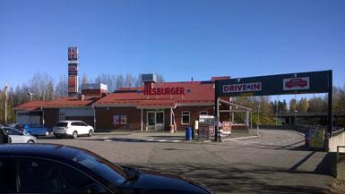 Hesburger Vantaa Martinlaakso Drive-in